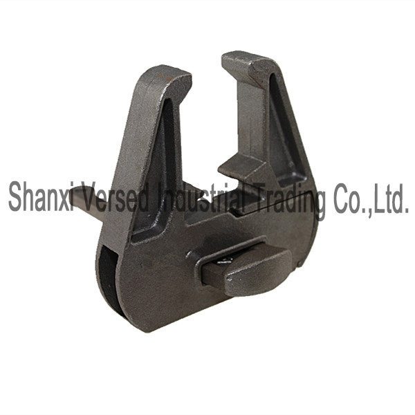 Cast formwork clamp